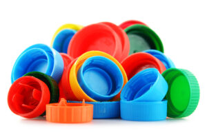 Multi coloured caps