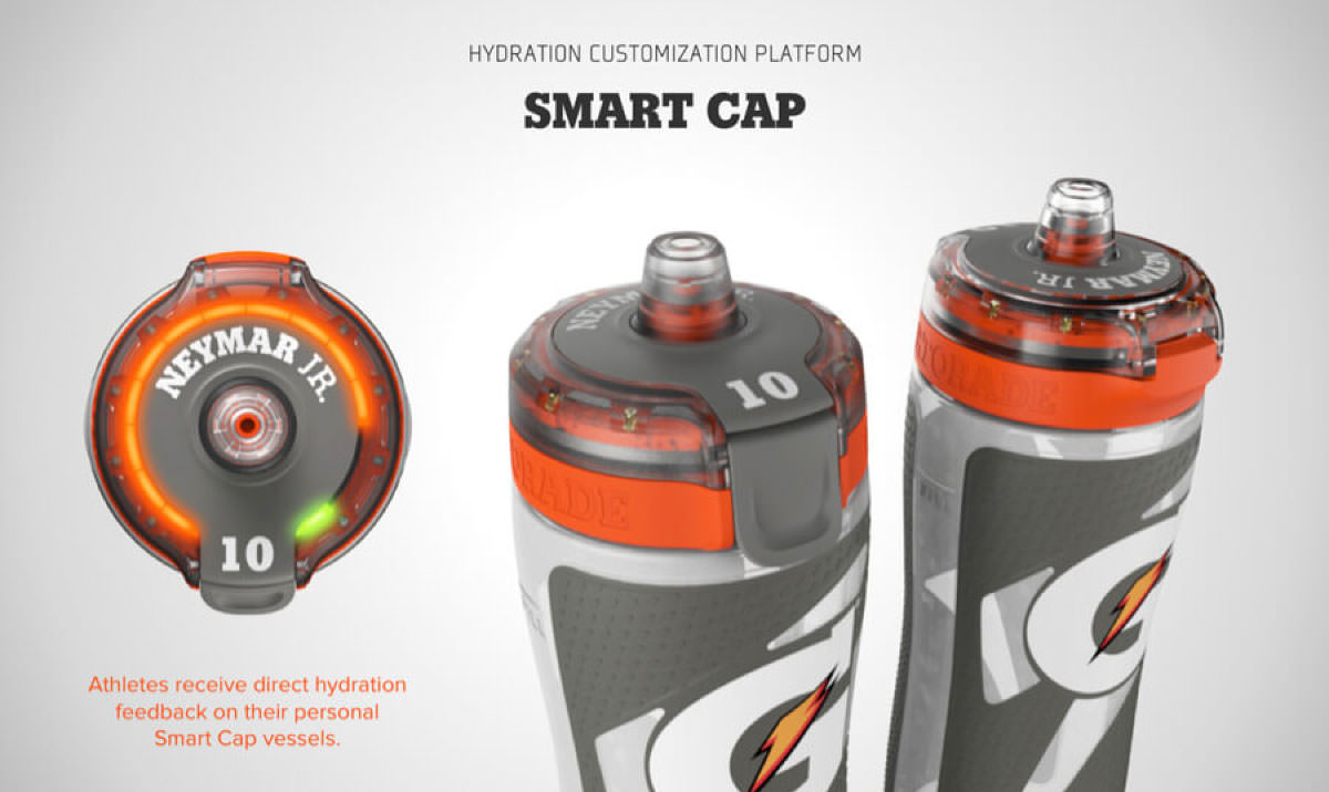 Smart Design Worldwide Gatorade Smart Cap